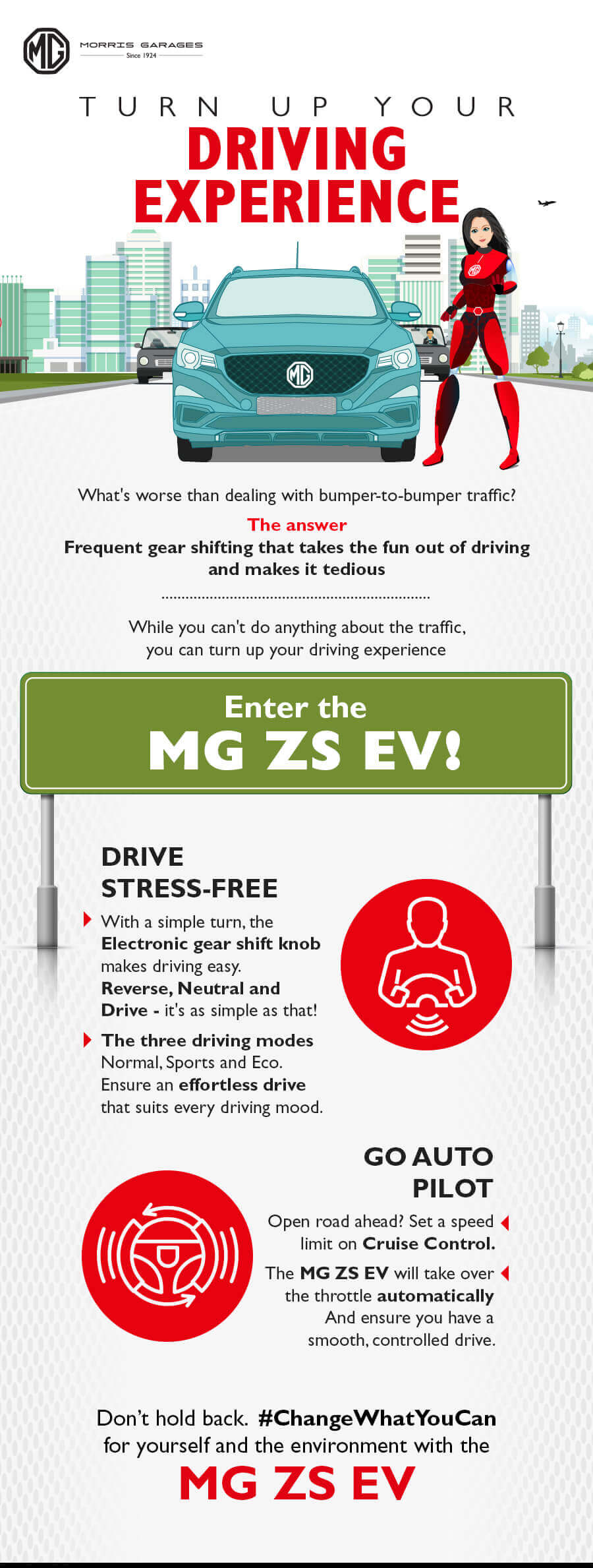 Turn up your driving experience