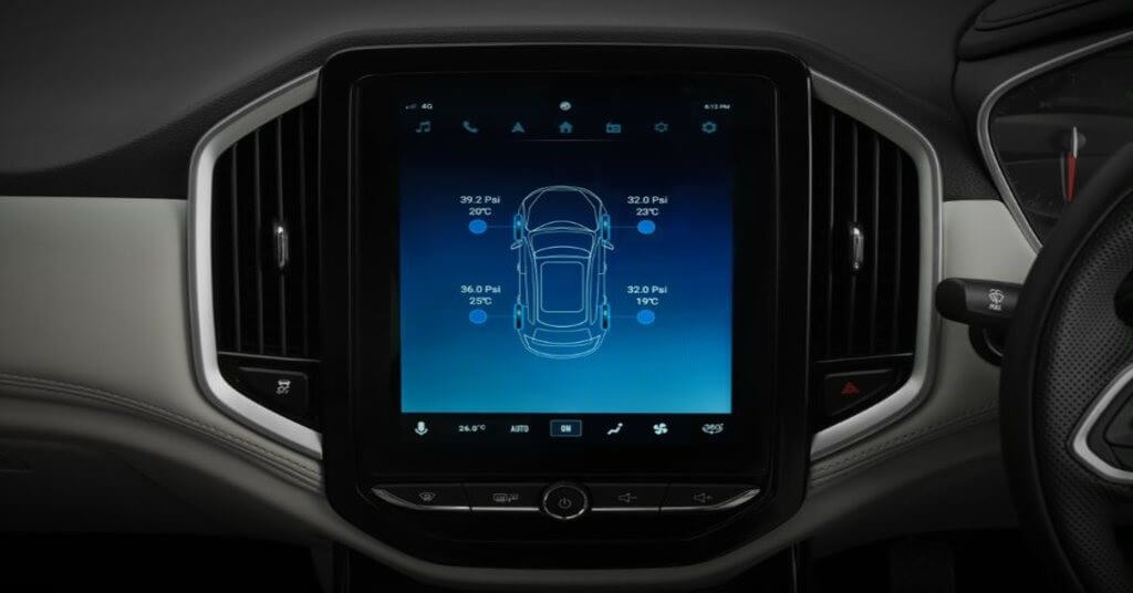 Safety features in the car
