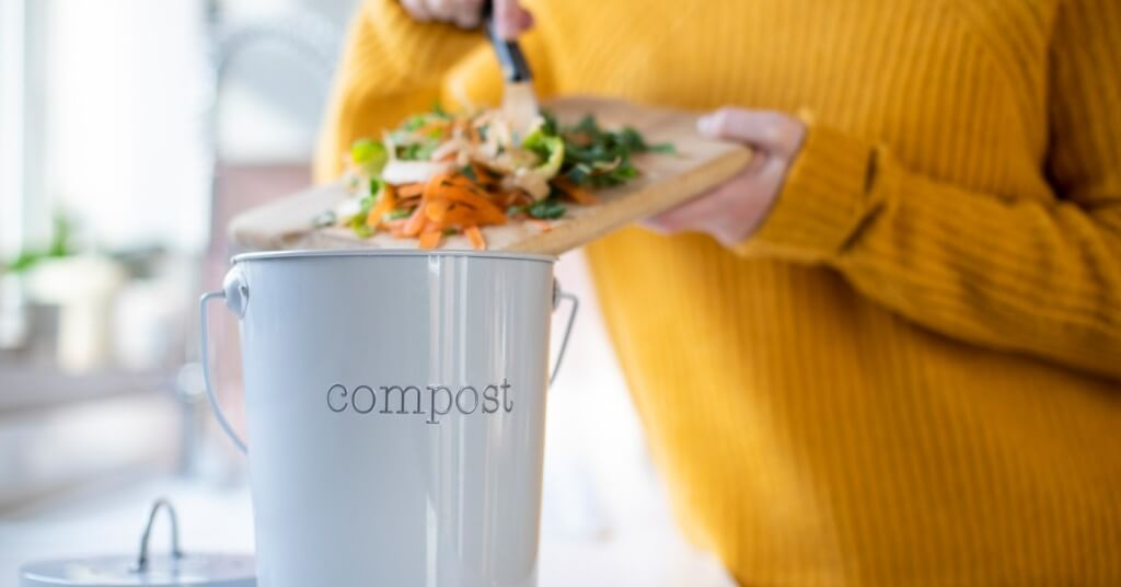 Start a mini compost at home