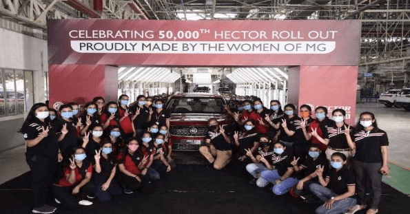 The 50,000th all-women team
